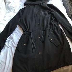 Black think summer coat